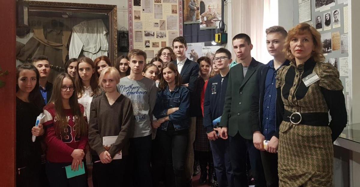 Вшанування пам'яті подій Української революції  в БНВО «Ліцей – МАН»